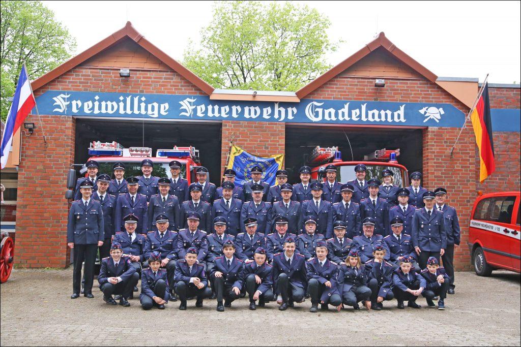FF-Gadeland im Sommer 2014